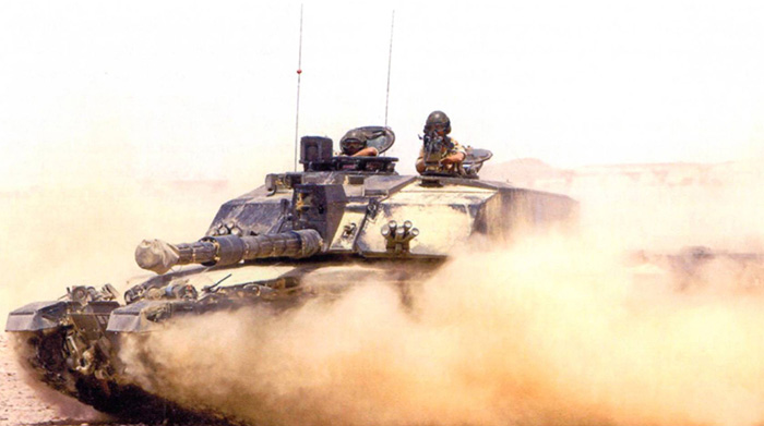 The Royal Dragoon Guards desert training with Omani forces